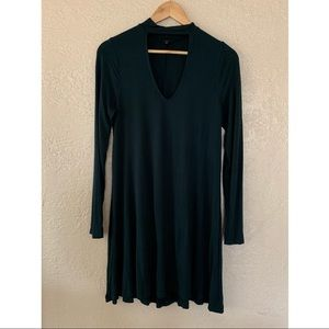 Express Dresses - EXPRESS CUT-OUT TRAPEZE CHOKER DRESS sz M